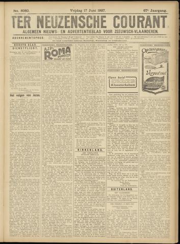 Ter Neuzensche Courant. Algemeen Nieuws- en Advertentieblad voor Zeeuwsch-Vlaanderen / Neuzensche Courant ... (idem) / (Algemeen) nieuws en advertentieblad voor Zeeuwsch-Vlaanderen 1927-06-17