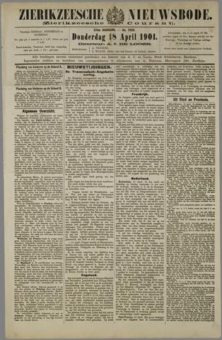 Zierikzeesche Nieuwsbode 1901-04-18