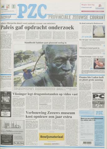 Provinciale Zeeuwse Courant 2003-03-07