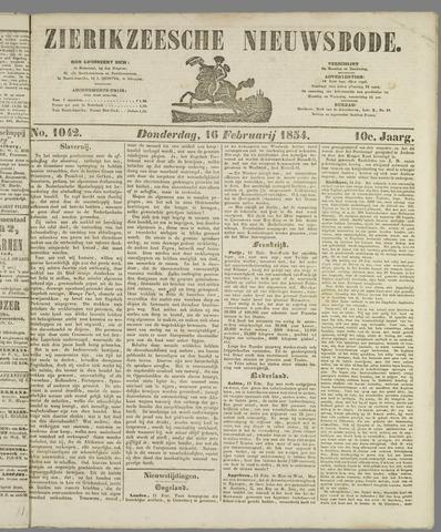 Zierikzeesche Nieuwsbode 1854-02-16