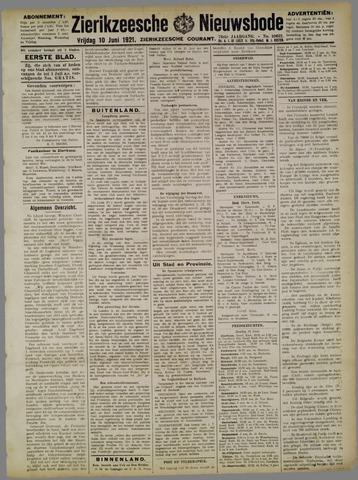 Zierikzeesche Nieuwsbode 1921-06-10