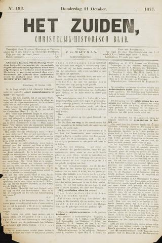 Het Zuiden, Christelijk-historisch blad 1877-10-11