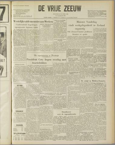 de Vrije Zeeuw 1958-04-17
