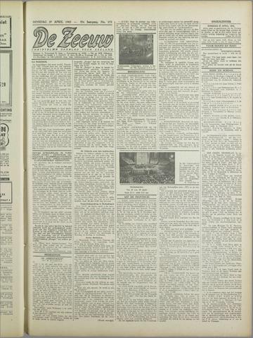 De Zeeuw. Christelijk-historisch nieuwsblad voor Zeeland 1943-04-27