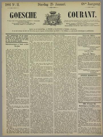Goessche Courant 1881-01-25