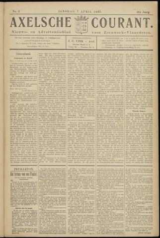 Axelsche Courant 1925-04-07