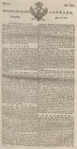 Middelburgsche Courant 1771-05-28