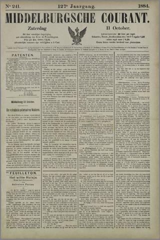 Middelburgsche Courant 1884-10-11