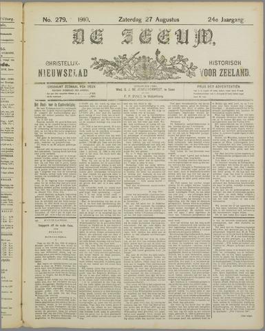 De Zeeuw. Christelijk-historisch nieuwsblad voor Zeeland 1910-08-27