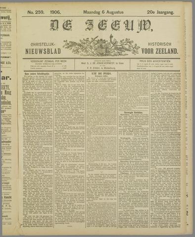 De Zeeuw. Christelijk-historisch nieuwsblad voor Zeeland 1906-08-06