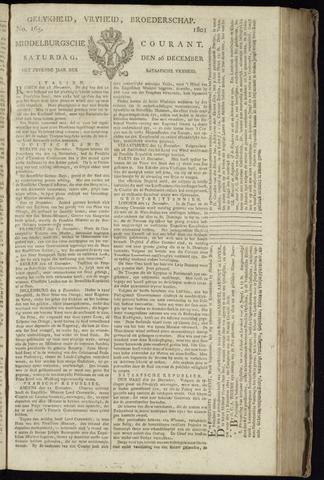 Middelburgsche Courant 1801-12-26