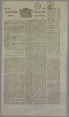 Goessche Courant 1826-01-09
