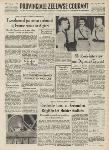 Provinciale Zeeuwse Courant 1956-05-28