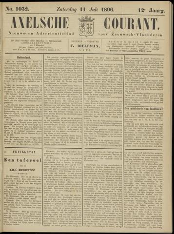 Axelsche Courant 1896-07-11