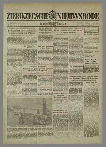Zierikzeesche Nieuwsbode 1954-04-09