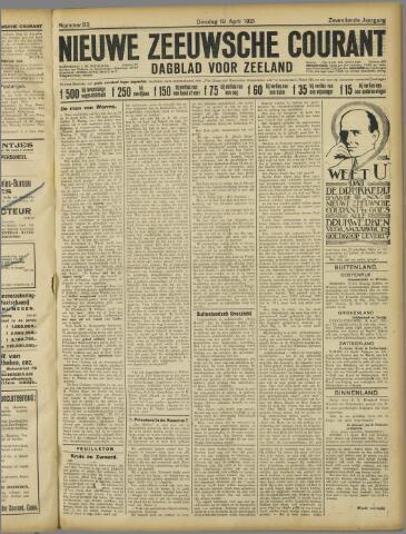 Nieuwe Zeeuwsche Courant 1921-04-19