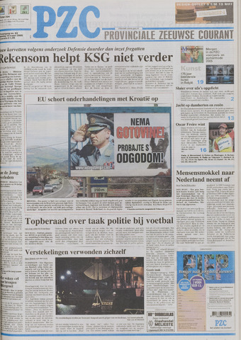 Provinciale Zeeuwse Courant 2005-03-16