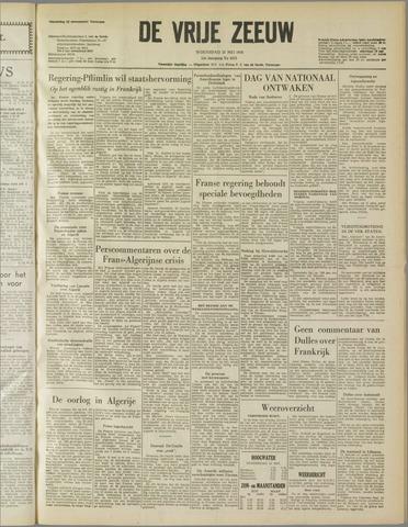 de Vrije Zeeuw 1958-05-21