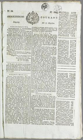 Zierikzeesche Courant 1824-08-17