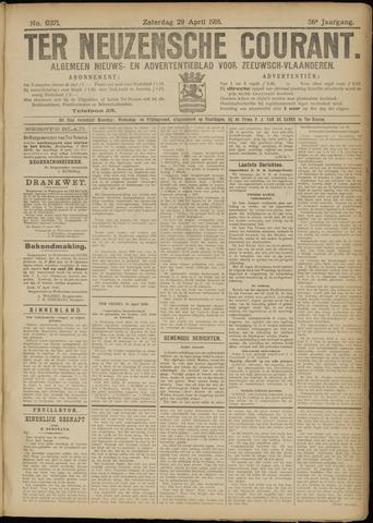 Ter Neuzensche Courant. Algemeen Nieuws- en Advertentieblad voor Zeeuwsch-Vlaanderen / Neuzensche Courant ... (idem) / (Algemeen) nieuws en advertentieblad voor Zeeuwsch-Vlaanderen 1916-04-29