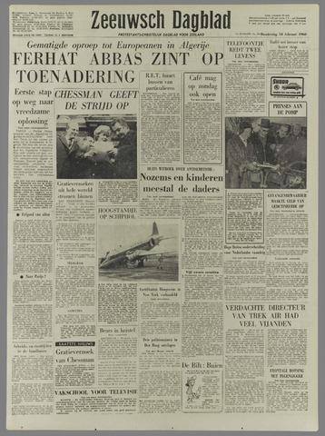 Zeeuwsch Dagblad 1960-02-18