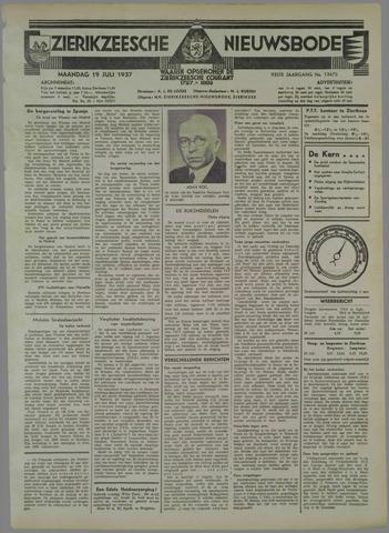 Zierikzeesche Nieuwsbode 1937-07-19