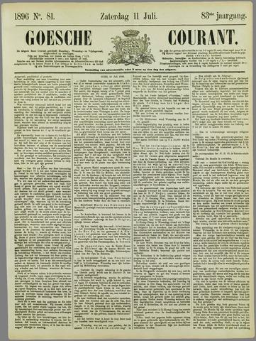 Goessche Courant 1896-07-11