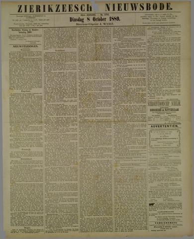 Zierikzeesche Nieuwsbode 1889-10-08