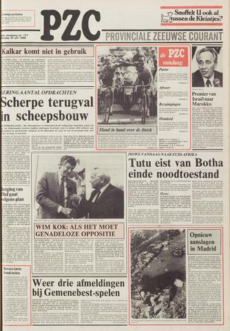 Provinciale Zeeuwse Courant 1986-07-22