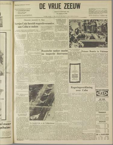 de Vrije Zeeuw 1962-10-26