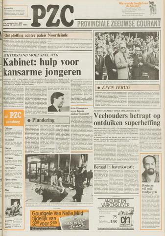 Provinciale Zeeuwse Courant 1984-09-18