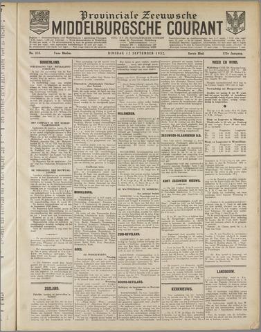 Middelburgsche Courant 1932-09-13