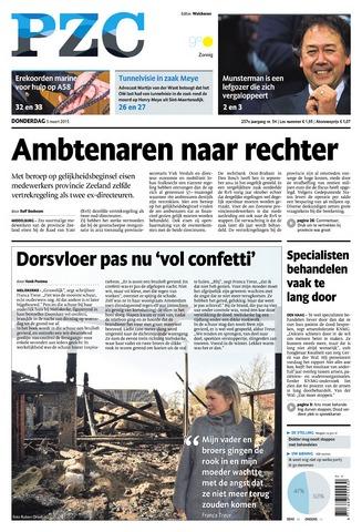 Provinciale Zeeuwse Courant 2015-03-05