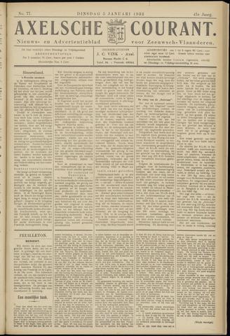 Axelsche Courant 1932-01-05