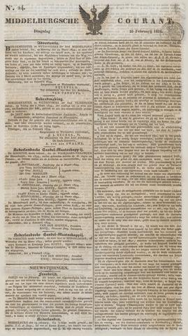 Middelburgsche Courant 1834-02-25