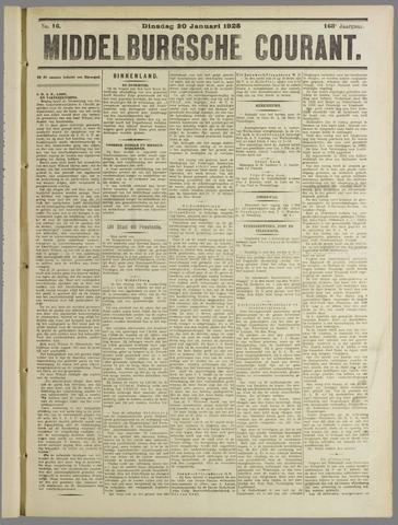 Middelburgsche Courant 1925-01-20