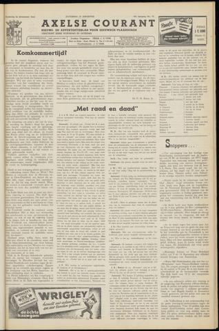 Axelsche Courant 1953-08-29