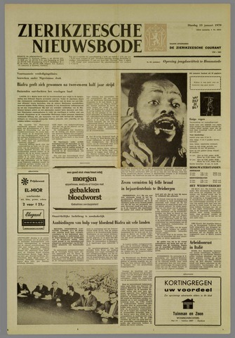 Zierikzeesche Nieuwsbode 1970-01-13