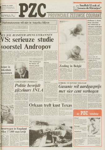 Provinciale Zeeuwse Courant 1983-08-19
