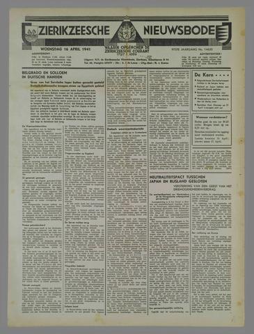 Zierikzeesche Nieuwsbode 1941-04-16
