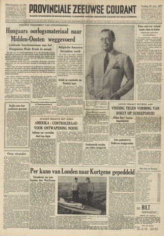 Provinciale Zeeuwse Courant 1957-06-28