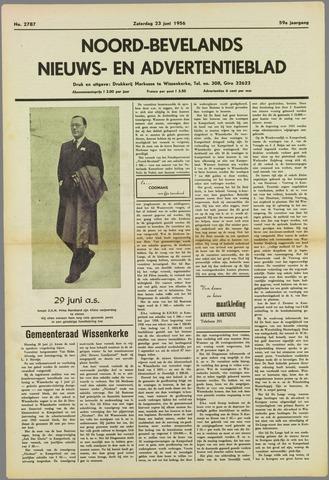 Noord-Bevelands Nieuws- en advertentieblad 1956-06-23
