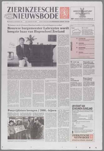 Zierikzeesche Nieuwsbode 1995-09-25