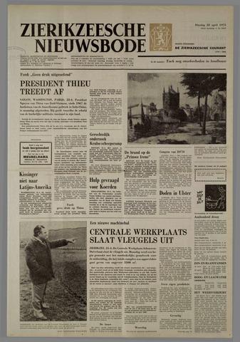 Zierikzeesche Nieuwsbode 1975-04-22