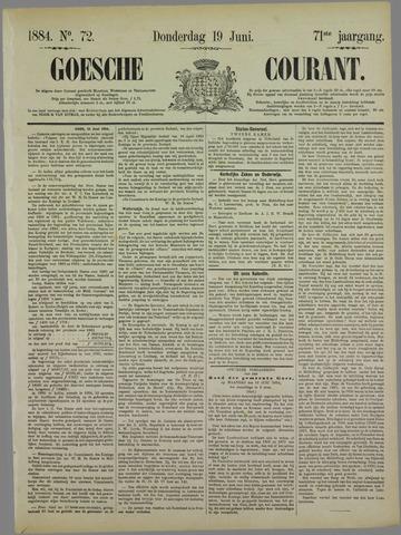 Goessche Courant 1884-06-19