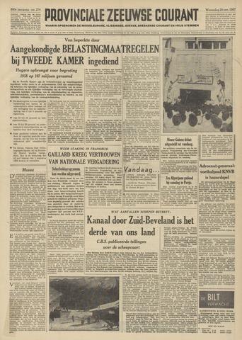 Provinciale Zeeuwse Courant 1957-11-20