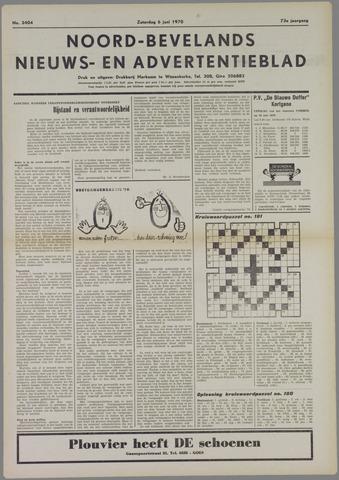 Noord-Bevelands Nieuws- en advertentieblad 1970-06-06