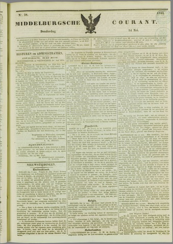 Middelburgsche Courant 1846-05-14