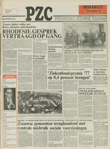 Provinciale Zeeuwse Courant 1976-10-29