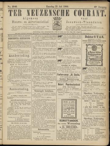 Ter Neuzensche Courant. Algemeen Nieuws- en Advertentieblad voor Zeeuwsch-Vlaanderen / Neuzensche Courant ... (idem) / (Algemeen) nieuws en advertentieblad voor Zeeuwsch-Vlaanderen 1900-07-21